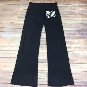 ❗SOLD❗Pink Victorias Secret XS Black Sweatpants